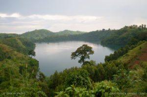 Uganda Crater Lake