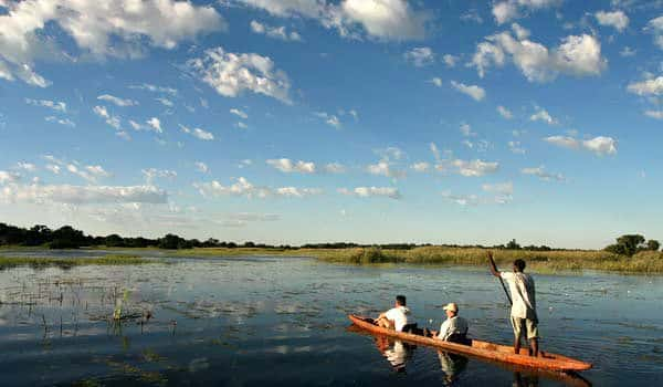 Across the Okavango