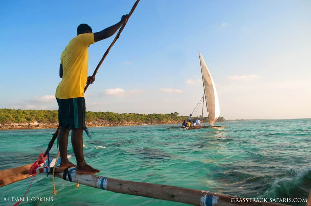 Sailing a Traditional Ngalawa