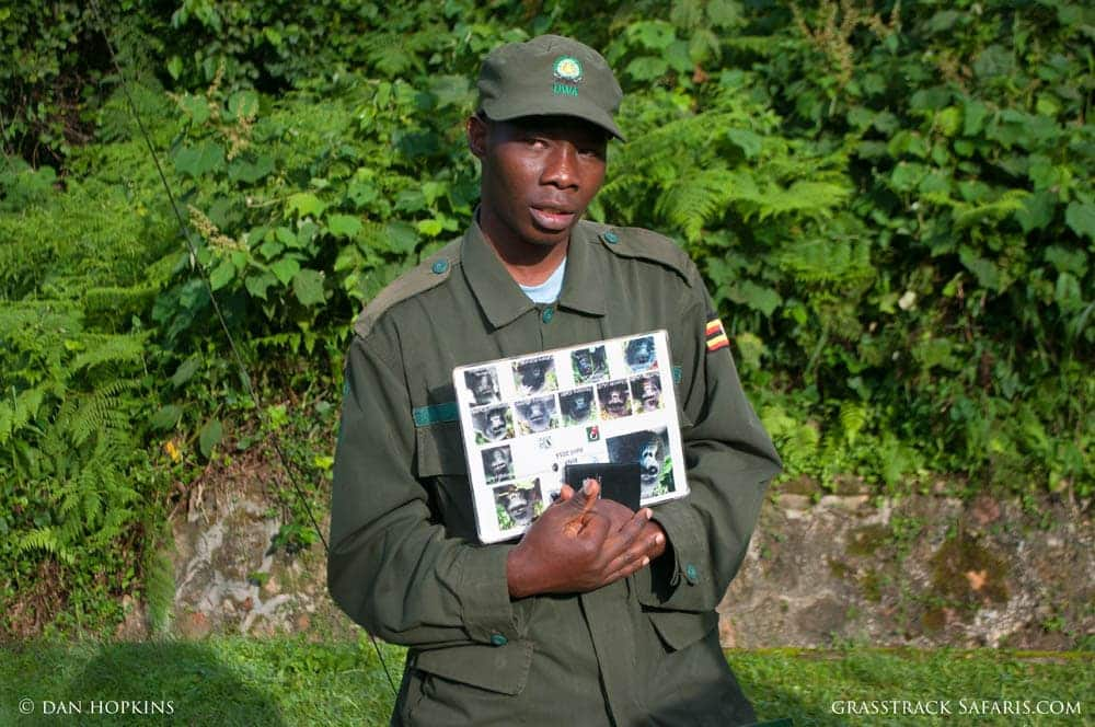 Ranger in Bwindi Impenetrable, Uganda
