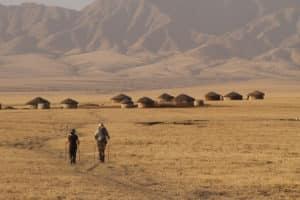 tanzania walk in wild