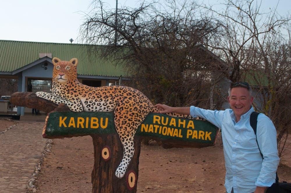 Leopard by the Tail, Ruaha, Tanzania