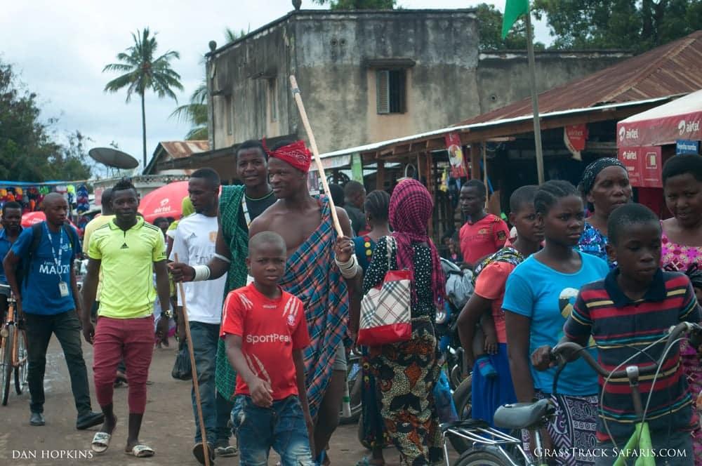 Village Market Along the Road
