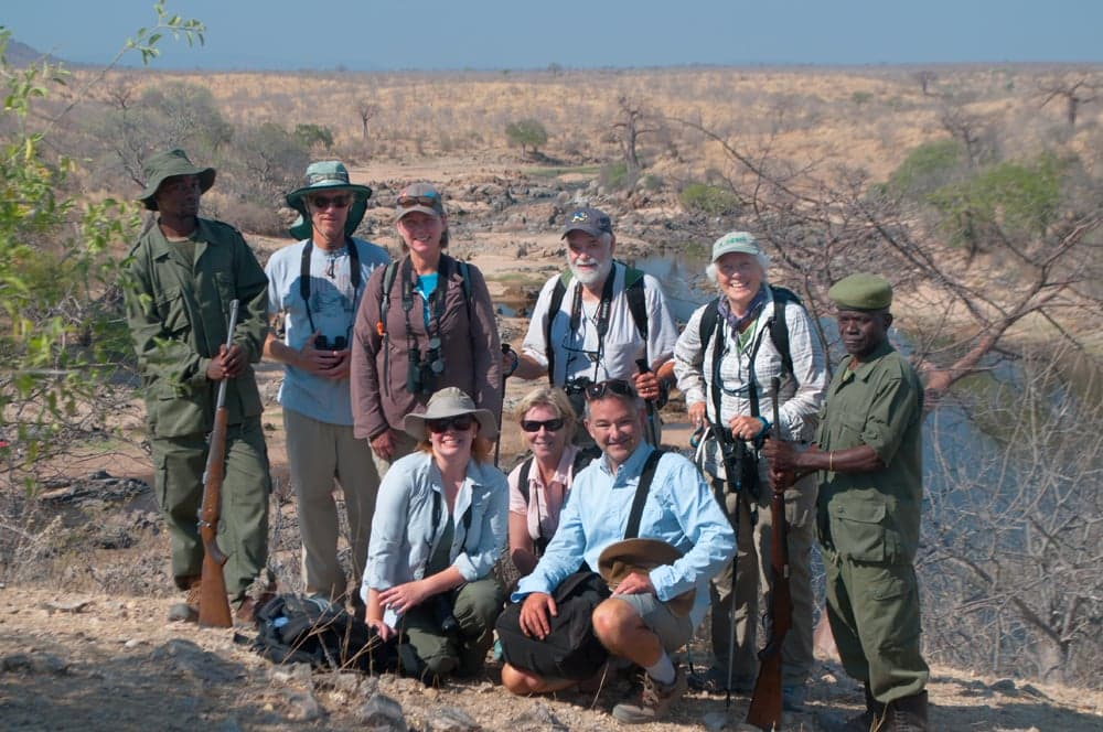 Our Southern Tanzania Safari group, Sept 2018