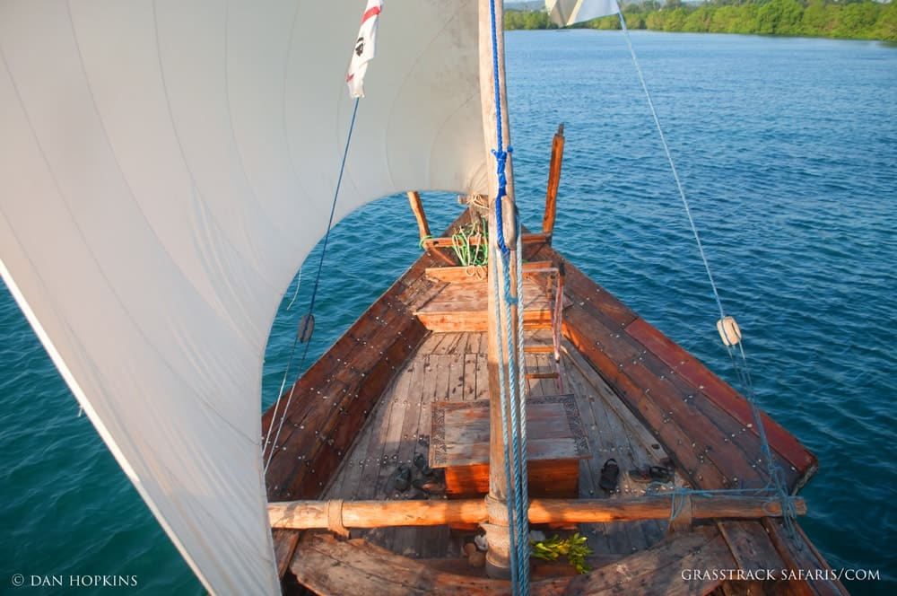 Sunset Dhow Cruise along Zanzibar's Harbor