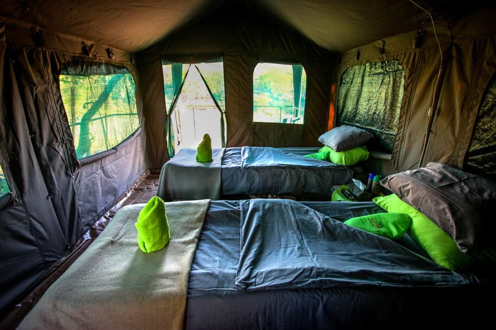//Huab Under Canvas, Tent Interior
