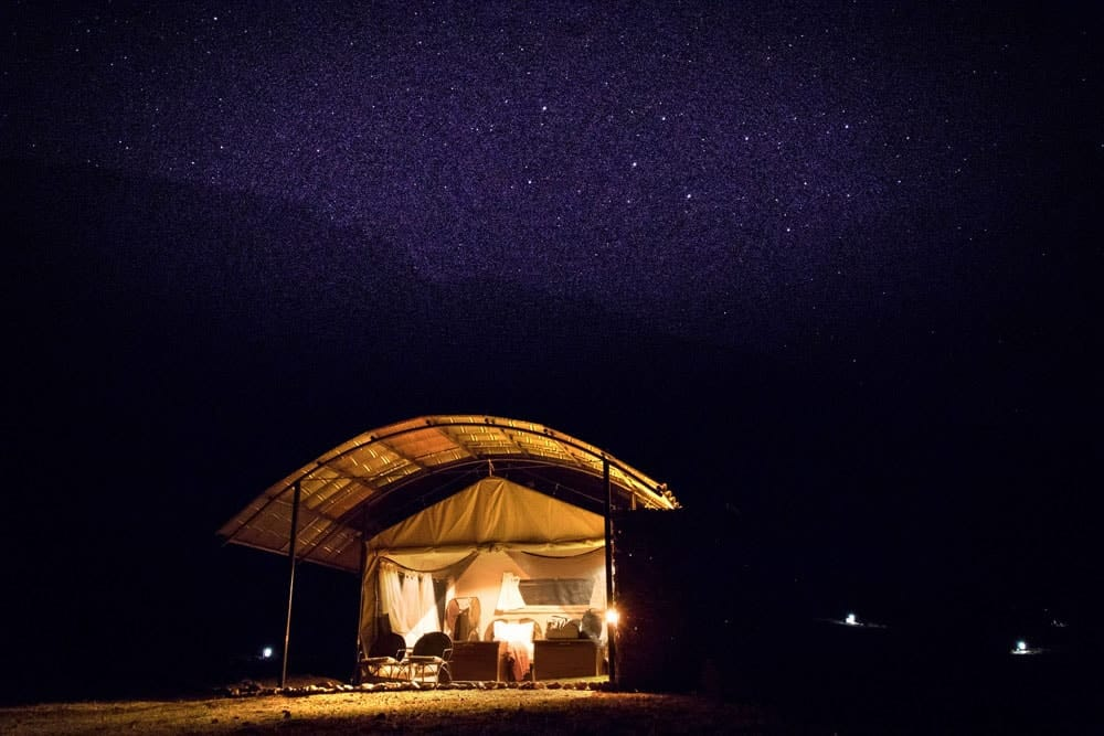 Sossus Under Canvas and under the stars